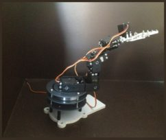 robotic hand-arm with 6 degree of freedom-nuttyenginee-new