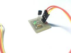 Temperzature sensor LM35 for IOT device-1